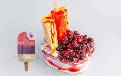 """Summer Is Coming – """"Take A Chill With The Scrummy Ice-Cream"""""""