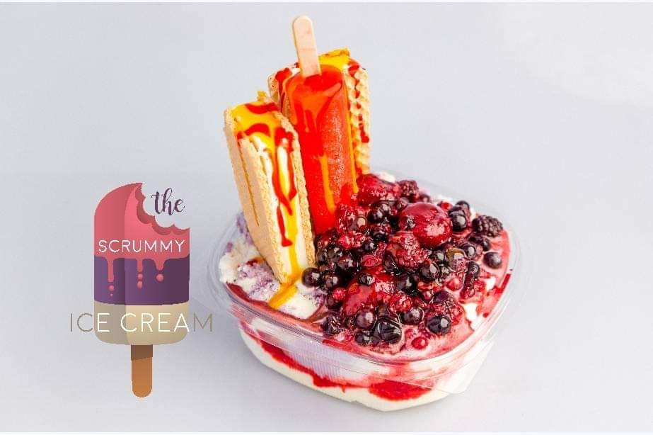 "Summer Is Coming – ""Take A Chill With The Scrummy Ice-Cream"""